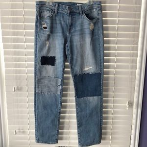Treasure and bond patch work jeans
